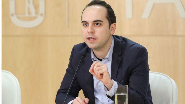 El concejal José Manuel Calvo, este jueves tras la Junta de Gobierno