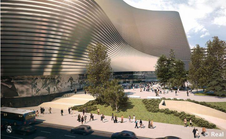 El nuevo Bernabéu será el centro de una gran plaza sin Esquina