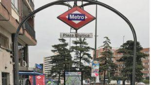 Estación de Plaza Elíptica