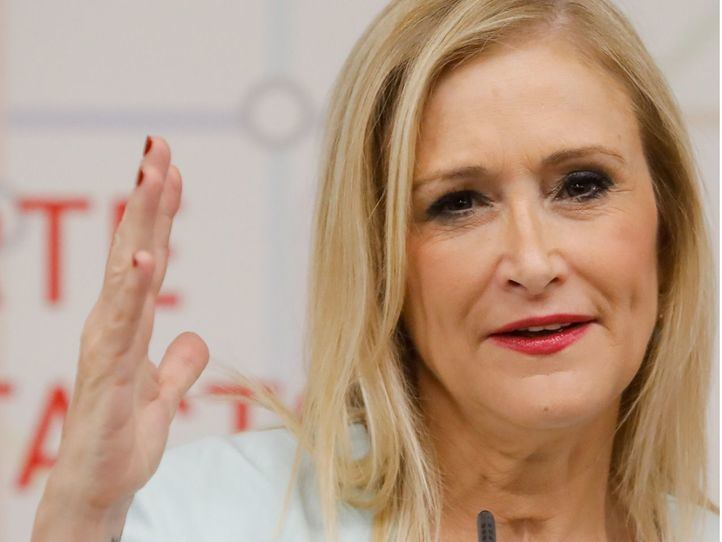 Cristina Cifuentes, presidenta regional