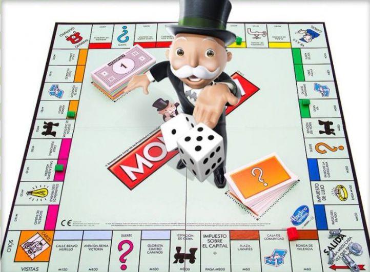 Tablero del Monopoly.