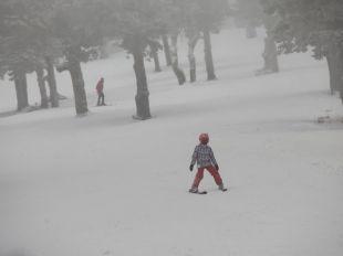 Cerrada la estación de esquí de Navacerrada