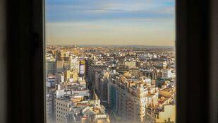 Madrid desde el Riu Plaza España, que abrirá en verano de 2019.