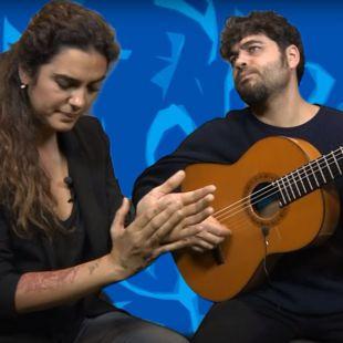 Alba Molina canta a su padre en Caminando con Manuel