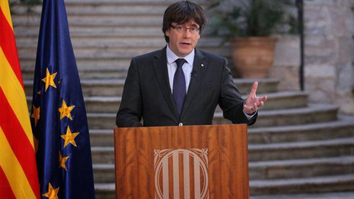 Puigdemont solicita poder acudir al Parlament para ser investido
