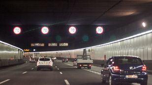 Reabierto el túnel de la M-30 tras cuatro horas cerrado