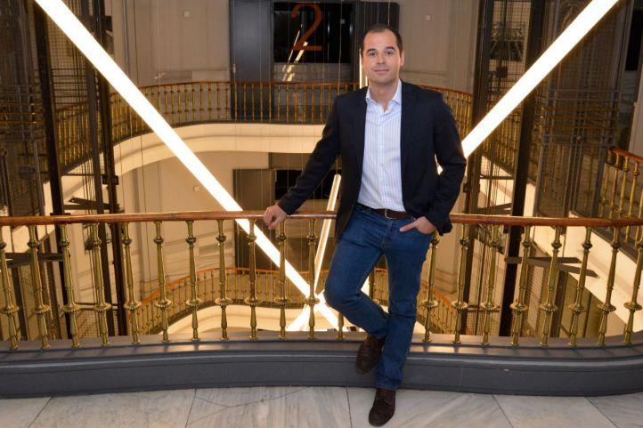 Entrevista en 'La Terraza de Gran Vía', a Ignacio Aguado, diputado de Ciudadanos en la Asamblea de Madrid.
