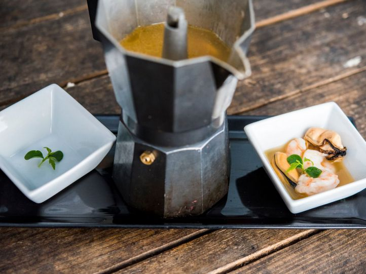 El arte y la gastronomía se fusionan en Oceanika
