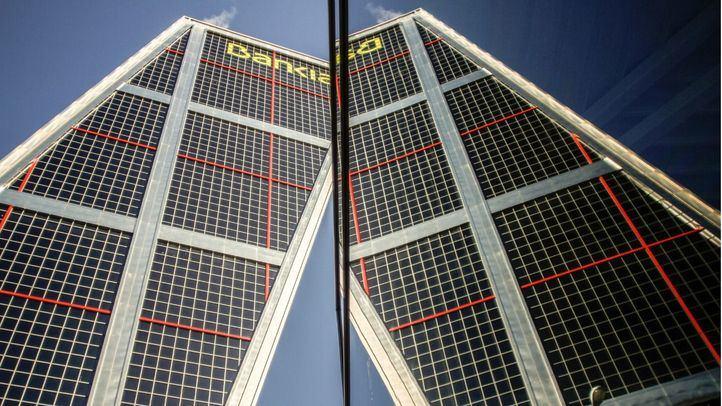 Torre Kio, sede de Bankia.