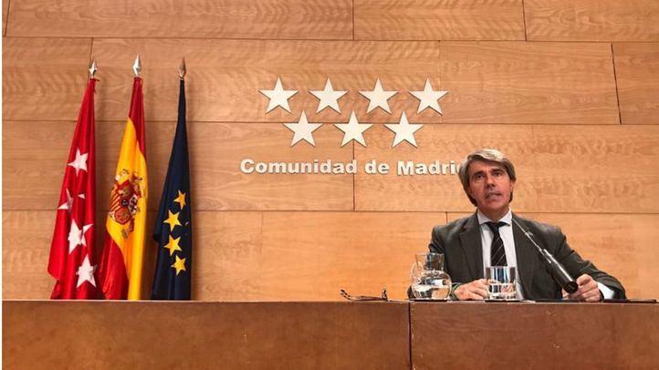 Ángel Garrido, en la rueda de prensa posterior al Consejo de Gobierno de este martes