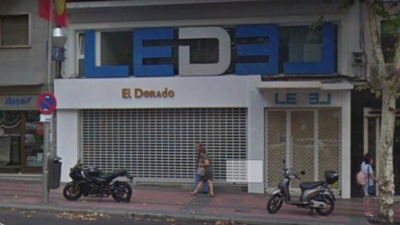 Salón de juego El Dorado, en Delicias.