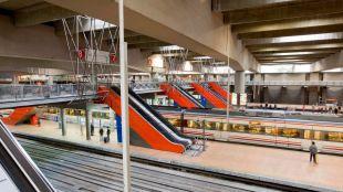 Renfe arregla las escaleras de Atocha paradas desde agosto