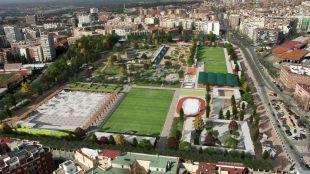 Conciertos, hockey y voleiplaya: así será el parque que sustituirá al campo de golf
