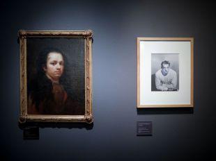 El primer autorretrato de Goya, en el Lázaro Galdiano