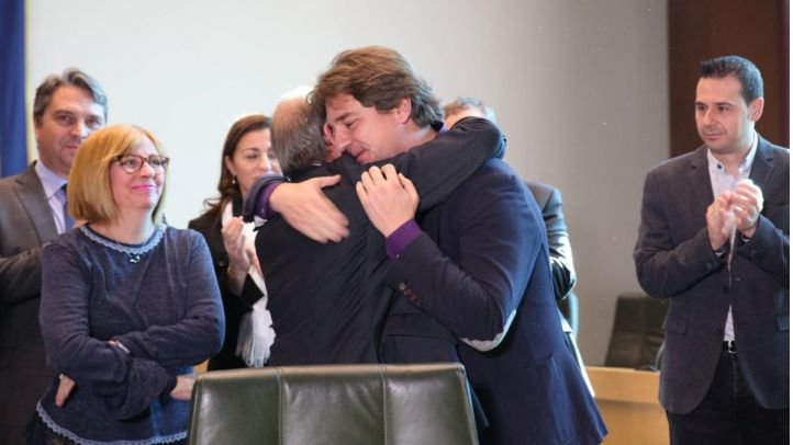 Ayala toma posesión como alcalde de Fuenlabrada