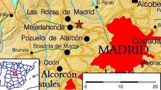 Terremoto de dos grados de magnitud en Majadahonda