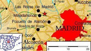 En este mapa puede verse el punto en el que ha tenido lugar el terremoto.