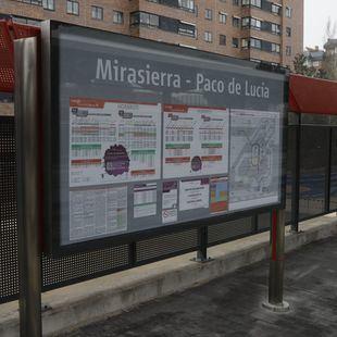El primer tren de Mirasierra-Paco de Lucía, este martes