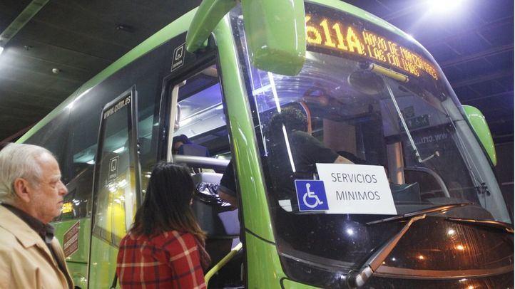 Autobús interurbano de Avanza.
