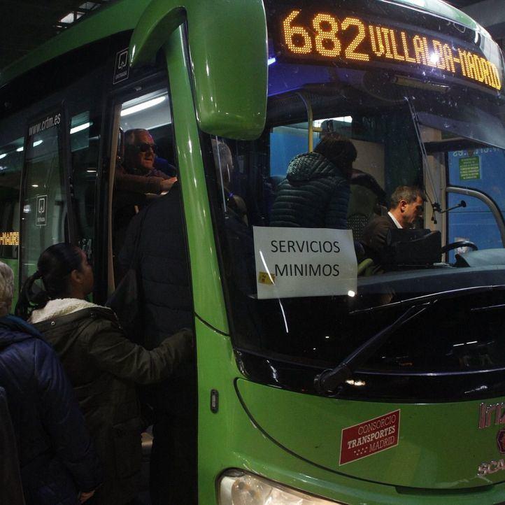 Desconvocada la huelga de autobuses de Avanza