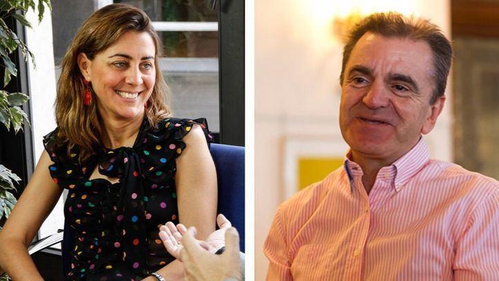 Lorena Ruiz Huerta y José Manuel Franco.