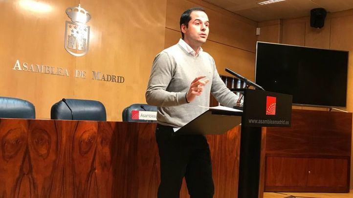 Ignacio Aguado, en rueda de prensa este martes