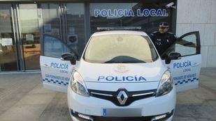 Coche de la Policía Local de San Fernando de Henares