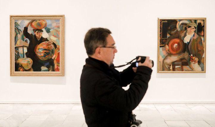 Exposición Pessoa. Todo arte es una forma de literatura en el Museo Nacional Centro de Arte Reina Sofía.