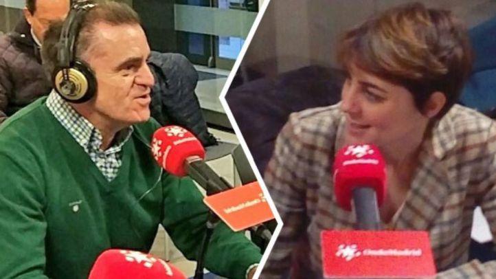 Lorena Ruiz-Huerta y José Manuel Franco en Compermiso.