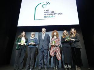 Ecovidrio premia a los periodistas más 'ecólatras'