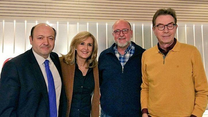 Luis Miguel López Reillo y Jaime Cedrún en Com.Permiso.