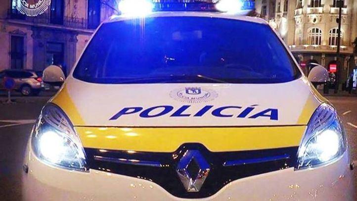 Imagen de archivo de un coche de la Policía de Madrid.
