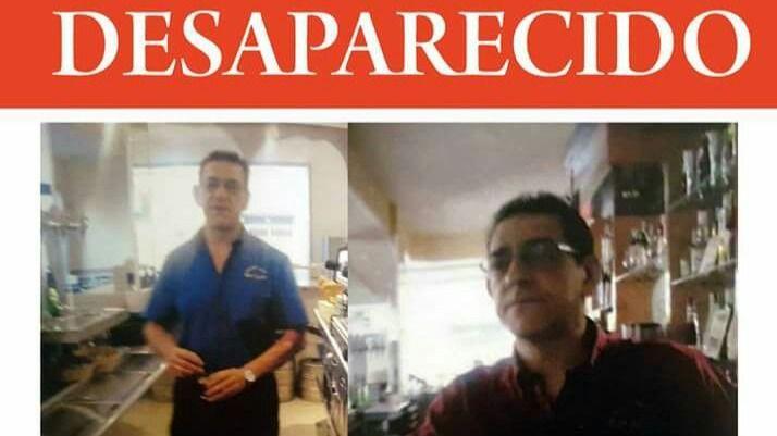 Isidro San Julián Noriega,desaparecido desde el 26 de octubre de 2017.