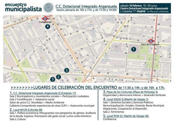 Encuentro Municipalista de Ahora Madrid