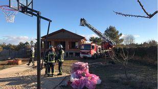 Extinguido un incendio en Nuevo Baztan