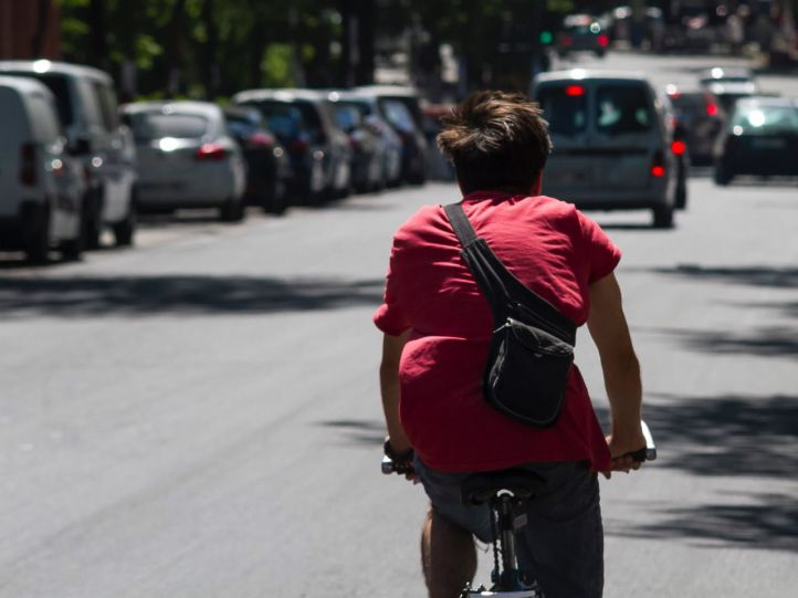 Los accidentes con bicicletas se multiplican por cinco