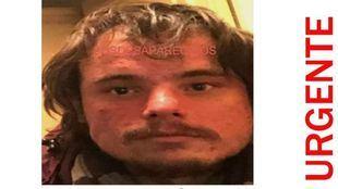 Desaparecido un hombre que necesita medicación