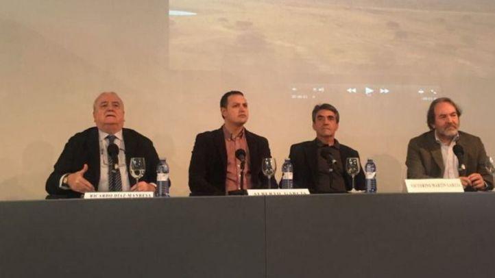 Un momento de la presentación del homenaje a Victorino