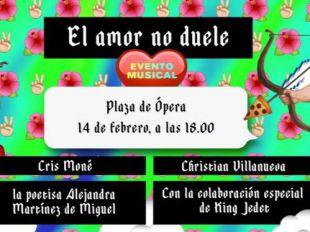 Madrid canta por San Valentín que 'El amor no duele'