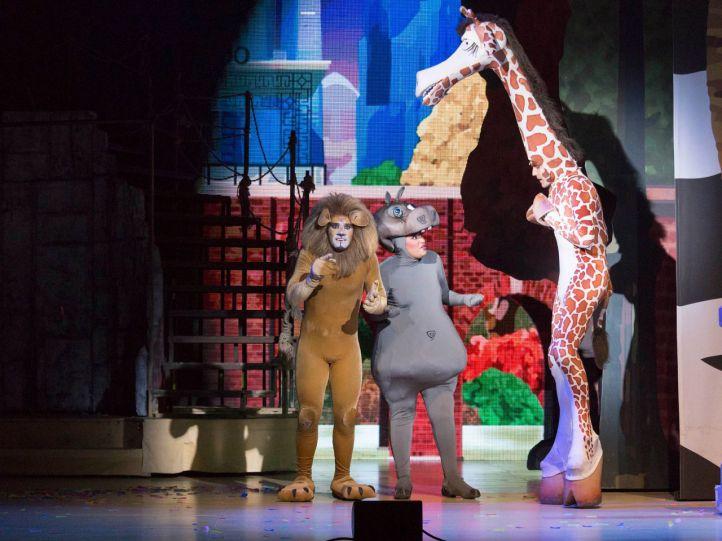 Madagascar, en el teatro de la luz Gran Vía hasta el 13 de mayo.