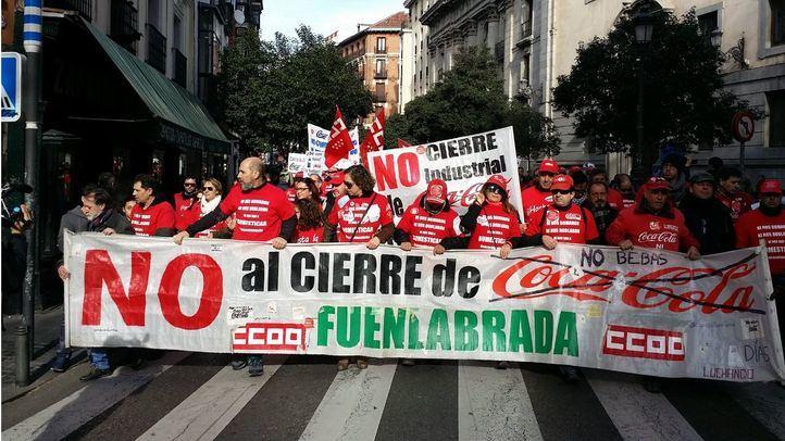 Coca-Cola pagará el dinero adeudado a los trabajadores de Fuenlabrada