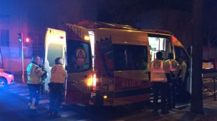 Un motorista, herido grave en Avenida de América