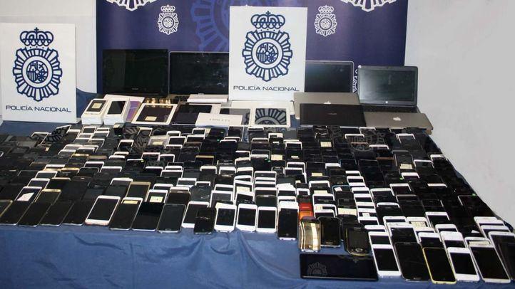 Alrededor de 500 smartphones han sido ya devueltos a sus propietarios.