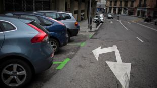 Casi 600 plazas de aparcamiento en Centro pasan a ser para residentes