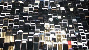Recuperados mil móviles robados en el Metro
