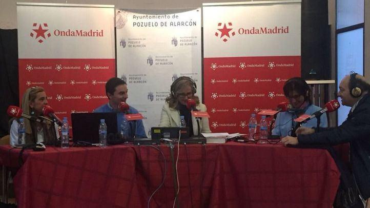 Programa de Com.Permiso con los alcaldesa de Collado Villalba, Soto del Real y Pozuelo de Alcorcón.