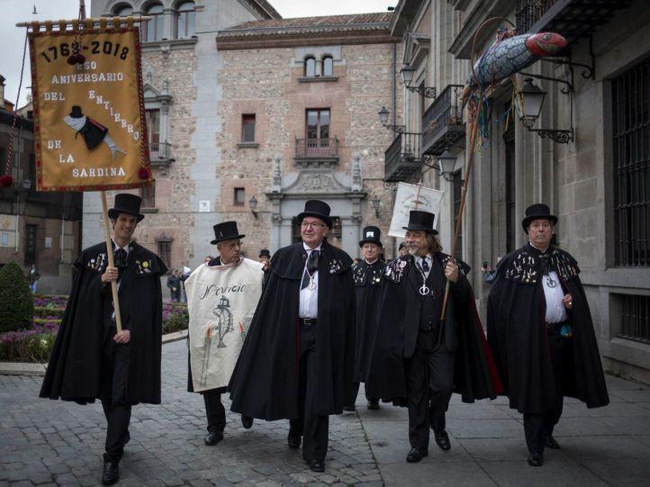 Madrid entierra el Carnaval