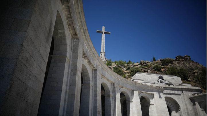 Una de las dos alas simétricas del mausoleo.