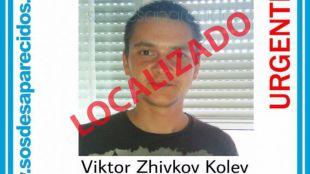 Viktor Zhikov, desaparecido en Getafe el 16 de noviembre, ha sido localizado.