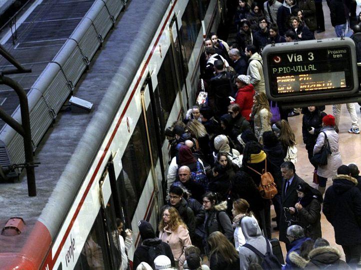 El Cercanías vuelve a fallar: la C3, C8 y C10, con retrasos